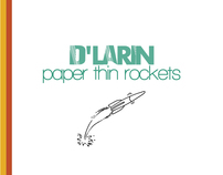 D'LARIN - Paper Thin Rockets Album Art