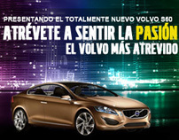 Landing Page Volvo S60