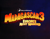 Dreamworks MADAGASCAR 3: EUROPE'S MOST WANTED