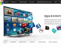 Samsung Australia AV Portal 2012 for Desktop