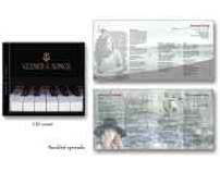 Vezner & Songs - CD package design