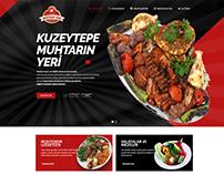 Muhtarın Yeri Restaurant Cafe Web Design Web Tasarım