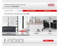 Miele Kitchen design, Facebook Activation Campaign