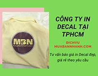 Công ty In Kỹ Thuật Số tại TPHCM