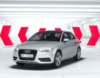 Way ahead. The new Audi A3.