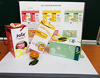 Packaging & Product designs / Joie - Juice Press