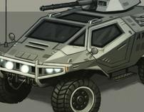 """""""Survival"""" - Game Development Concept Art"""