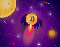 Bitcoin - you're just a space, baby ....