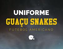 Uniforme - Guaçu Snakes Futebol Americano