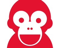 RED MONKEY LODGE | logo design | 2010