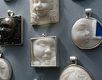 Bespoke Sculpted Cameos