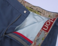 tΔilored trousers - the Pockets of London