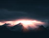 Winter Light - Faroe Islands