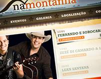 Website - Na Montanha