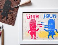 FANCY JOH & ÜBERHAUPT | block prints