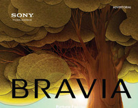 Bravia Advertorial, Elle Decoration Indonesia June 2012