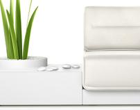 ZHEN furniture set - project 2012