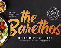 The Barethos Delicious Display Font Free Download