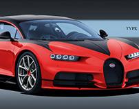 Bugatti Chiron Coach Profilee