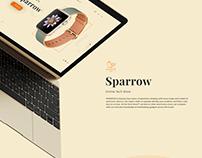 Sparrow Online Store Design