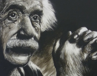 Scratchboard Project Einstein