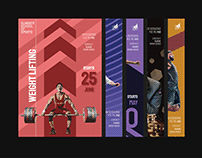 School of Sports | Event Poster Series