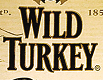 Wild Turkey Rare Breed - Print