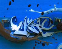 3d graffiti - Merlo