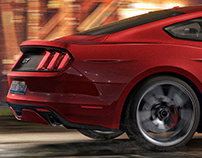 Ford Mustang GT   CGI