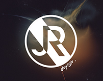 """JR Design."" logo and graphical charter"