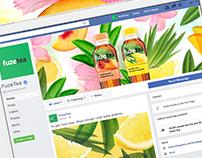FuzeTea - Visual Concept for Social Media / 2018