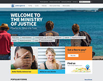 New Zealand Ministry Of Justice website