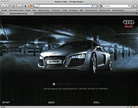 "Audi. ""Le Man Quattro"" website 2003."