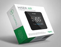 WISER Smart Thermostat Packaging
