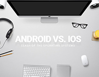 Android Vs. iOS Battle [Infographic]