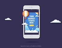 UI Practice - iPhone Pop Up