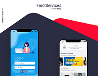UI Design for a Find Services App