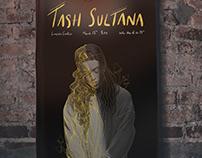 Tash Sultana Concert Poster