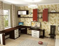 Furniture Design- Kids Room design