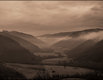 Monochrome mist...