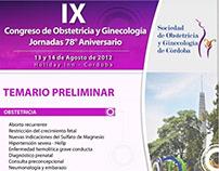 IX Congreso de Obstetricia y Ginecología