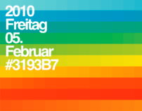 The Color Spectrum of 2010