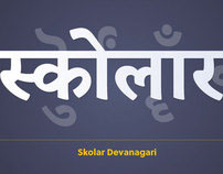 Skolar Devanagari