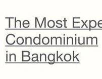 The Most Expensive Condominium in Bangkok.