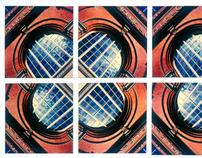 SX70 MOSAICS - THE VINTAGE YEARS OF POLAROID