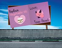 Spectrum Coconut Oil Billboards
