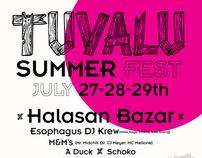Tuvalu Summer Fest - poster / flyer