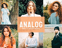 Free Analog Mobile & Desktop Lightroom Presets