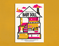 Baby Doll Theater Poster