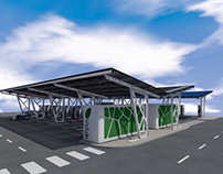 EV Centres UK - Solar Canopies